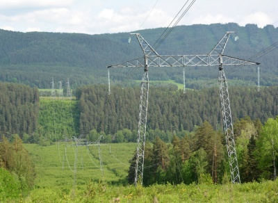 Магистральные электрические сети 500 кВ