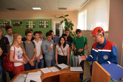 Сетевики Башкирии провели экскурсию для студентов УГНТУ на подстанции 220 кВ «НПЗ»
