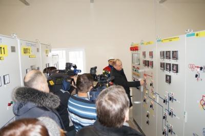 Председатель Правления - генеральный директор АО «БЭСК» Дмитрий Шароватов вводит в эксплуатацию ПС 110 кВ «Зубово»